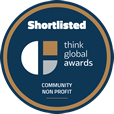 Community Non Profit - Think Global Awards Shortlisted Badge