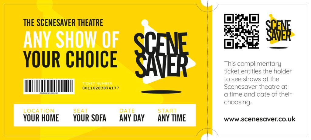 Scenesaver Theatre ticket general admission