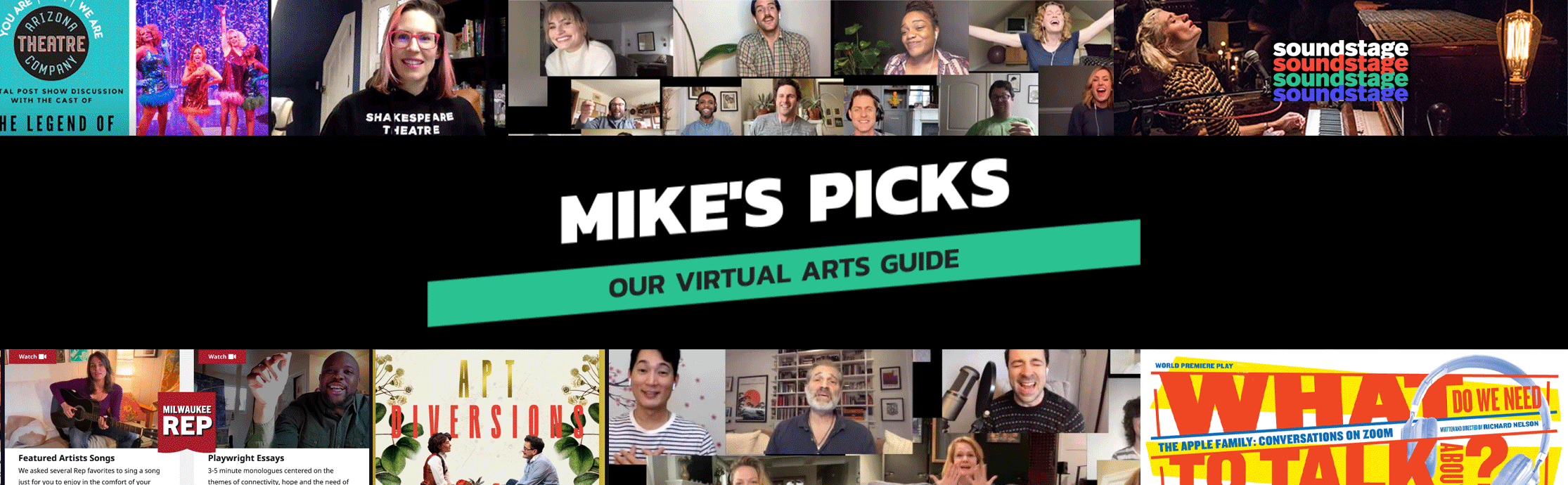 Mike's Picks for Forward Theatre