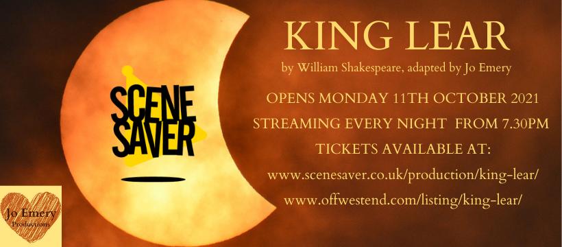 King Lear (Subtitled) Artwork