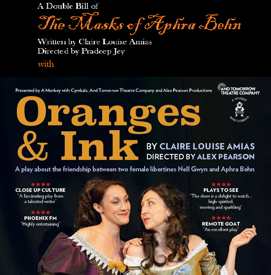 """The Masks of Aphra Behn"" and ""Oranges & Ink"" – A Double Bill! Thumbnail"