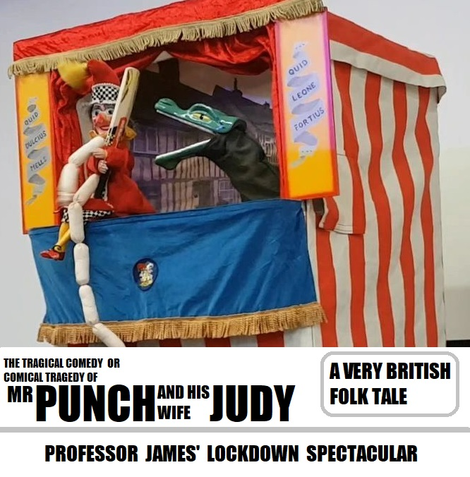Prof James' Lockdown Punch and Judy Show 2020 Artwork