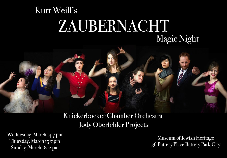 Kurt Weill's Zaubernacht Thumbnail