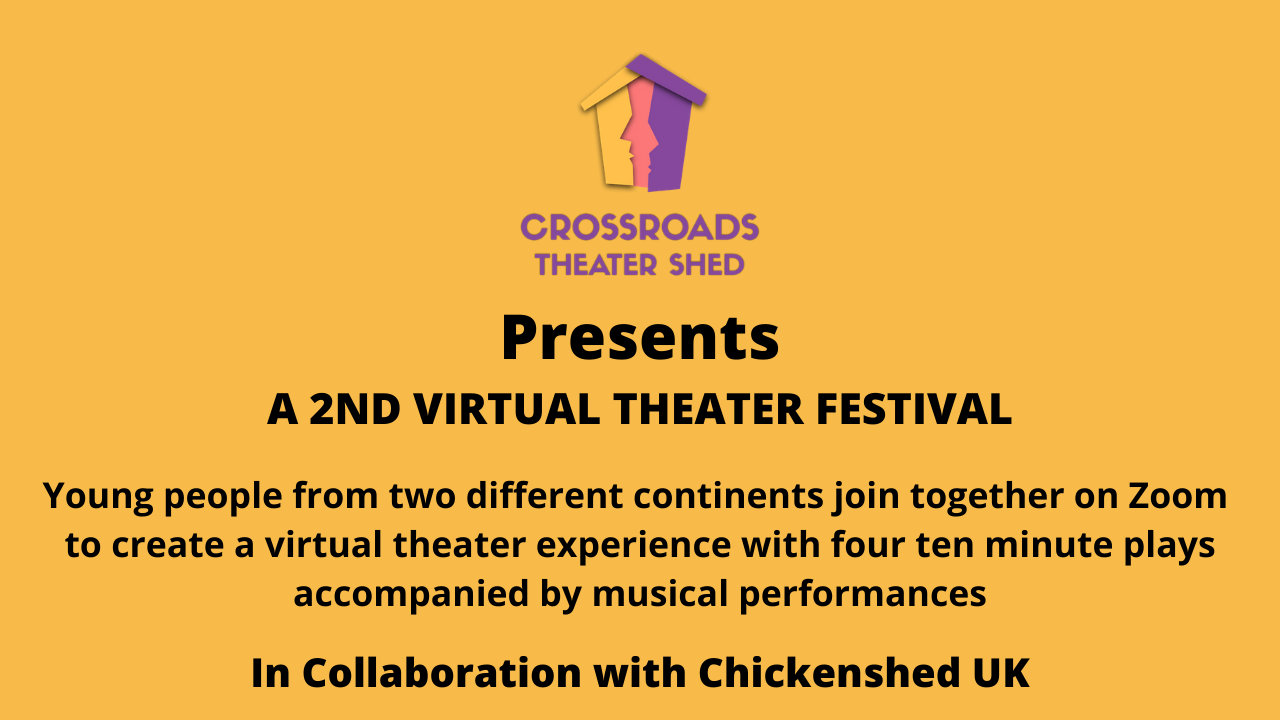 Crossroads Theater Shed's 2nd Virtual Theater Festival Thumbnail