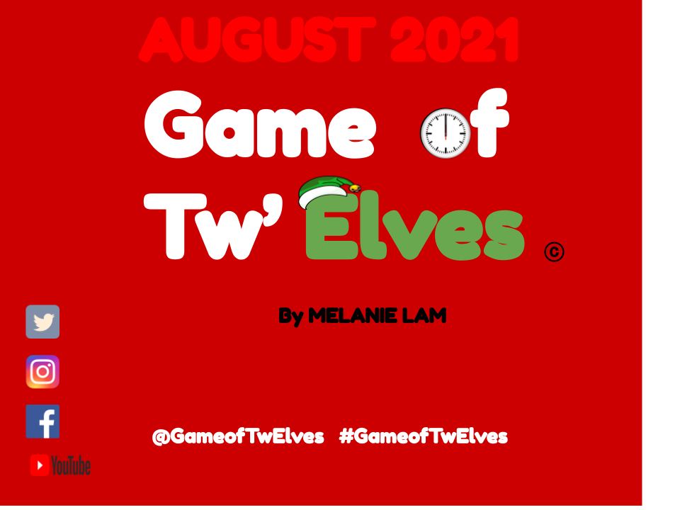 Game of Tw'Elves : 8.0 August 2021 QUIZ SHOW Thumbnail
